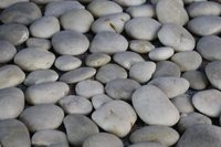Una alfombra de piedras