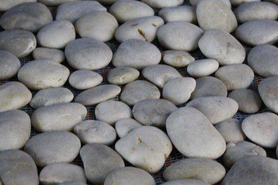 Alfombra de piedras.