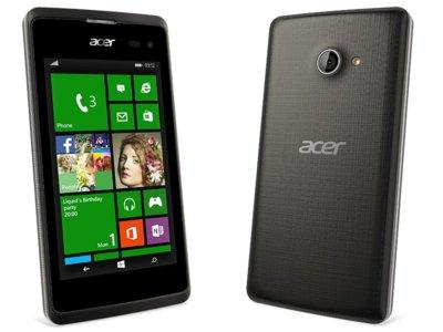 Durante la IFA 2015, Acer presentaría cuatro smartphones con Windows 10
