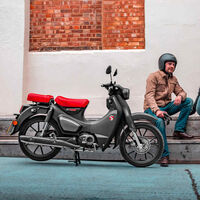 La Honda Super Cub C125 volverá en agosto con asiento para pasajero y mas potencia en la moto más icónica de la marca