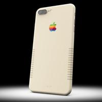 Este iPhone 7 Plus está totalmente personalizado para que parezca un Mac clásico