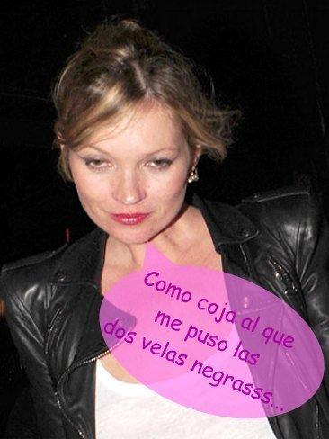 Kate Moss de limpeza general... de aura