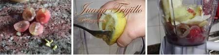 Preparación del Coctel de Manzana