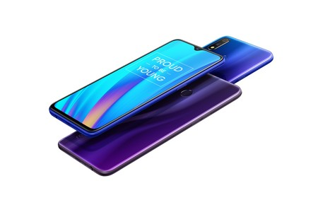 Realme 3 Pro Nitro Blue Lightning Purple 2