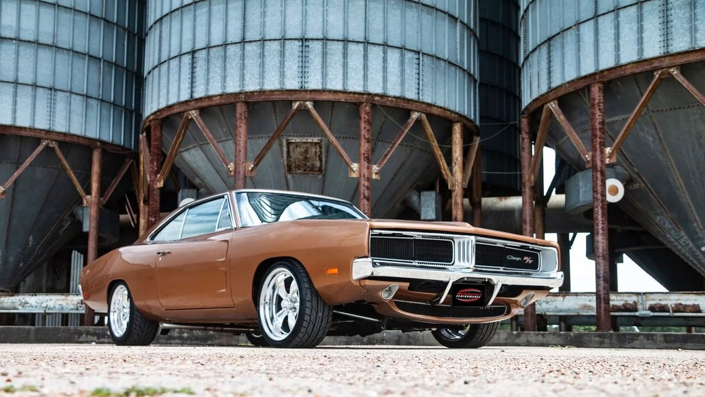 Dodge Charger Hellcat 1969 7