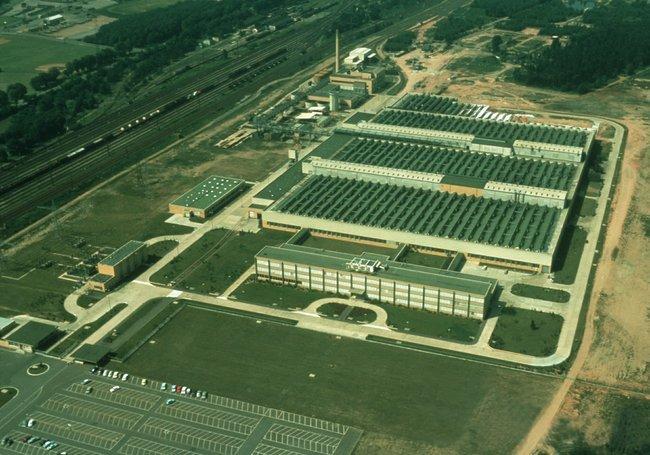 Planta de Opel en Kaiserslautern, 1966