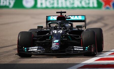 Hamilton Rusia F1 2020 2