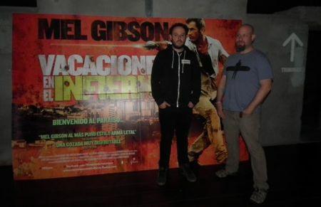 Encuentro con Adrian Grunberg, director de 'Vacaciones en el infierno'