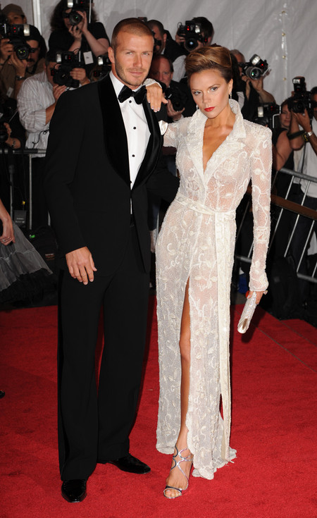 David Y Victoria Beckham 20 Aniversario Boda 2008 3