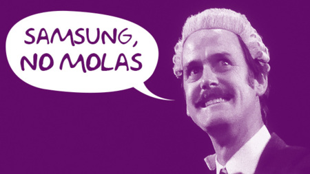 Samsung, no molas