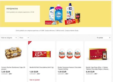 Miniprecios en eBay: cientos de artículos de uso diario rebajados y con envío gratis a partir de 19,99 euros