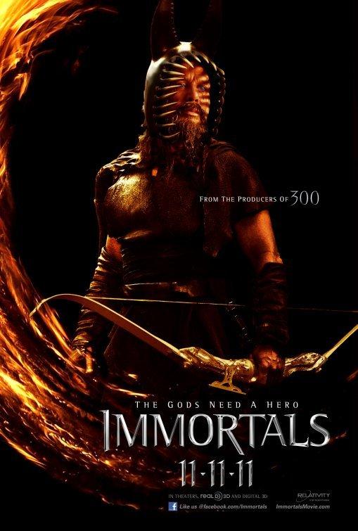Foto de 'Immortals', últimos carteles del film de Tarsem (1/5)