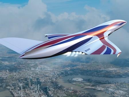 """De Sídney a Londres en cuatro horas: el """"avión espacial supersónico"""" que busca cambiar para siempre el transporte aéreo"""