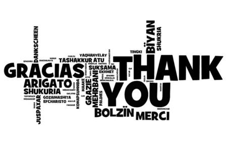 """Haz tu vida mejor diciendo """"gracias"""" en situaciones diferentes"""