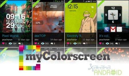 MyColorscreen, una red social donde lo importante es el escritorio de tu Android