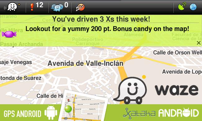 Waze: Navegador GPS y juego social
