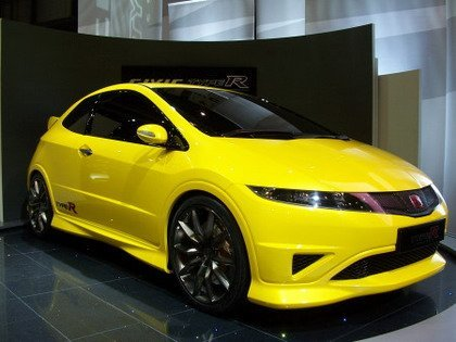 Honda Civic Type-R Concept, más fotos