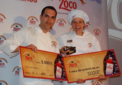 Ganadora del VI Concurso Zoco de Jóvenes Cocineros, Marta Culebras