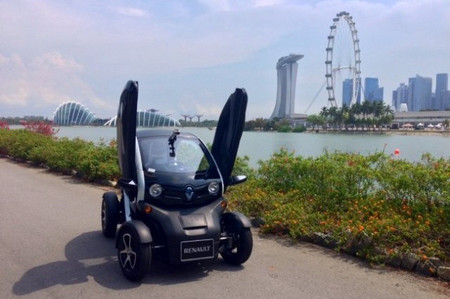 El Renault Twizy no puede venderse en Singapur por falta de categoría en la que clasificarlo