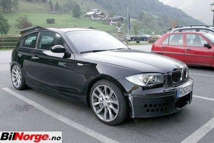 Nuevas fotos espía del BMW 135ti