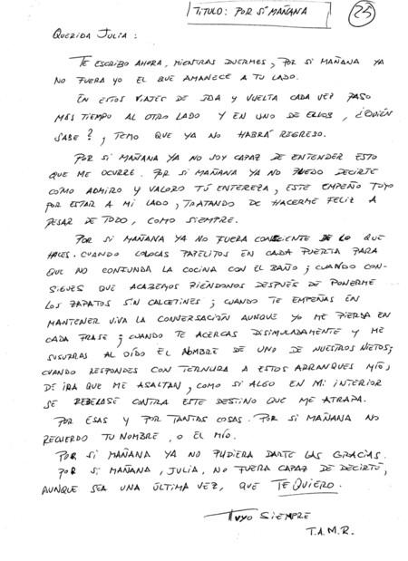 Carta Alzheimer