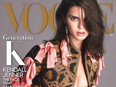 La 'Generación K' lleva a Kendall Jenner (y Gucci) a protagonizar la porta de Vogue USA en el número de septiembre