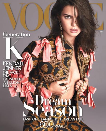 Kendall Jenner Portada De Vogue Usa Septiembre