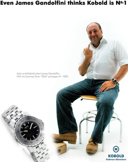 James Gandolfini for Kobold
