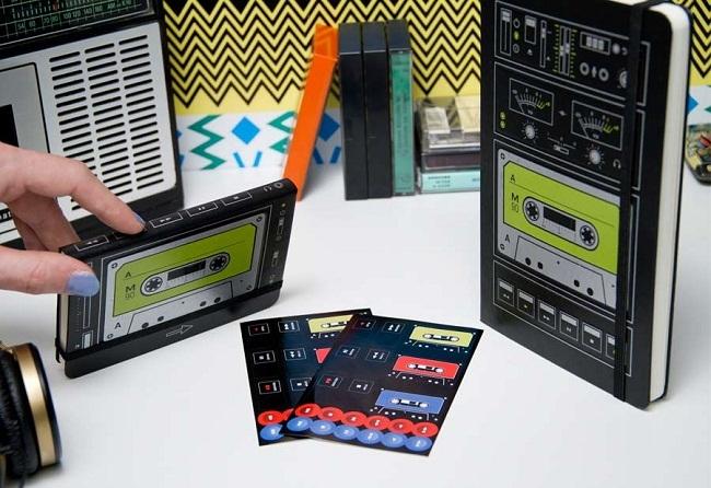 Moleskine cassette