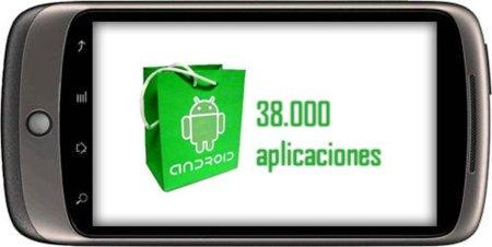 Android Market llega a las 38.000 aplicaciones, y Google considera a Nexus One un teléfono rentable