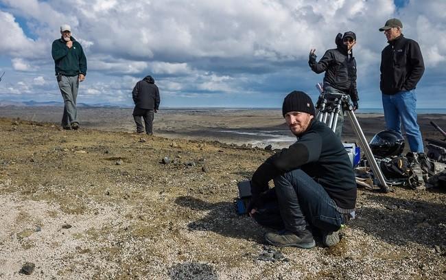Darren Aronofsky en el rodaje de 'Noé'