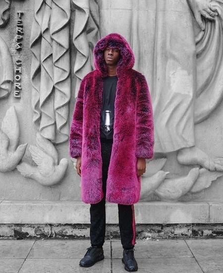 El Mejor Street Style De La Semana Trendencias Hombre Faux Fur Men Fall Winter 2019 12