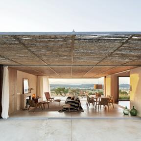 Puertas abiertas; una casa en Mallorca en la que conectar con la naturaleza de la manera más natural y eficiente