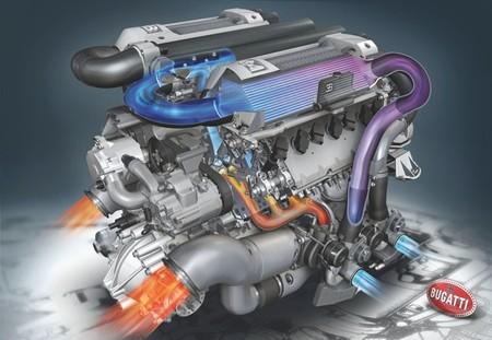 Bugatti Veyron Motor W16