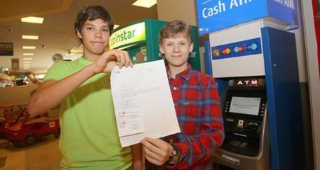 Hackers ATM