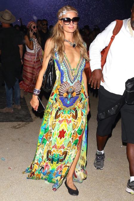 Paris Hilton Coachella 2016