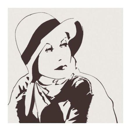Cuadro de Ikea de Marlene Dietrich