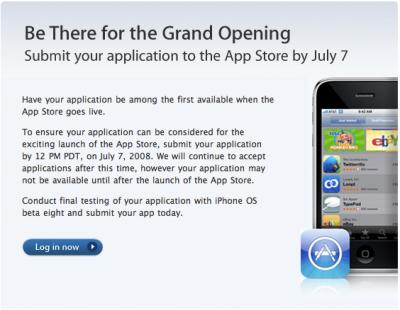 Apple impone una fecha límite para los desarrolladores de la AppStore