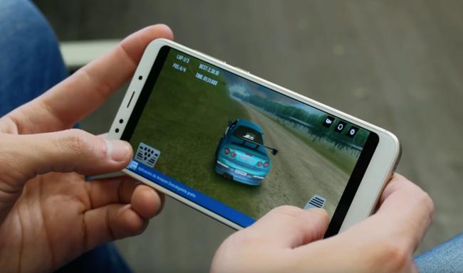 Jugando con el Xiaomi redime 5 Plus