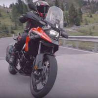 ¡Aquí está! La nueva Suzuki V-Strom se deja ver antes de su presentación, y tiene cara de Suzuki Katana