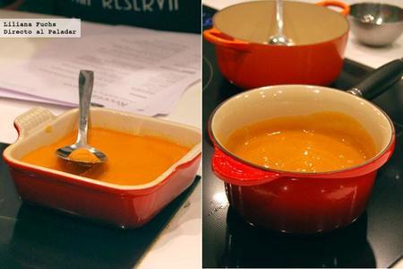 Emulsion de Chorizo y mantequilla