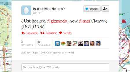 El soporte técnico de Apple concede acceso a la cuenta iCloud de Mat Honan a hacker que se hizo pasar por él