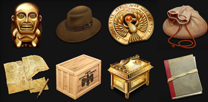 Iconos de Indiana Jones en Iconfactory