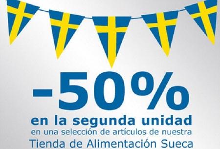 Obtenga un 50% de descuento en la tienda sueca de alimentación en Ikea