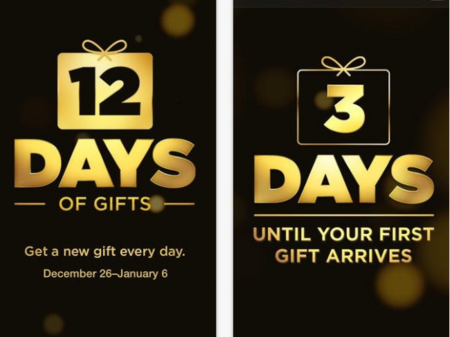 Apple 12 Days Of Gifts App 1
