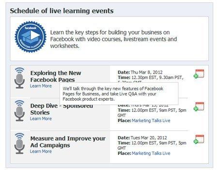 Facebook ofrece clases de marketing para que las marcas se adapten a las nuevas páginas