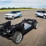 Jaguar Land Rover muestra su tecnología en ciernes para coches eléctricos
