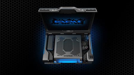 Esta maleta no solo te permite llevar tu consola donde sea, también puedes jugar sin sacarla de ahí