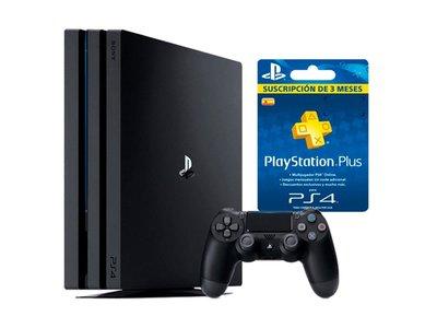 Hoy te puedes llevar la PS4 Pro de 1 Tb con 3 meses de PSN por sólo 369 euros en Mediamarkt