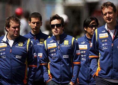 Fernando Alonso sigue teniendo fe